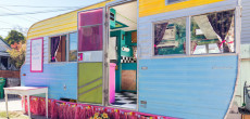 If You Love Food Trucks, Then You'll Adore This Former One Made From A 1964 Kenskill Camper