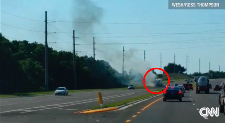 When A Tire On Their Motorhome Blew Out, This Family Had Only Seconds To Escape