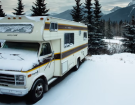 Couple Retrofits 36 Year Old Motorhome To Brave An Alberta, Canada Winter