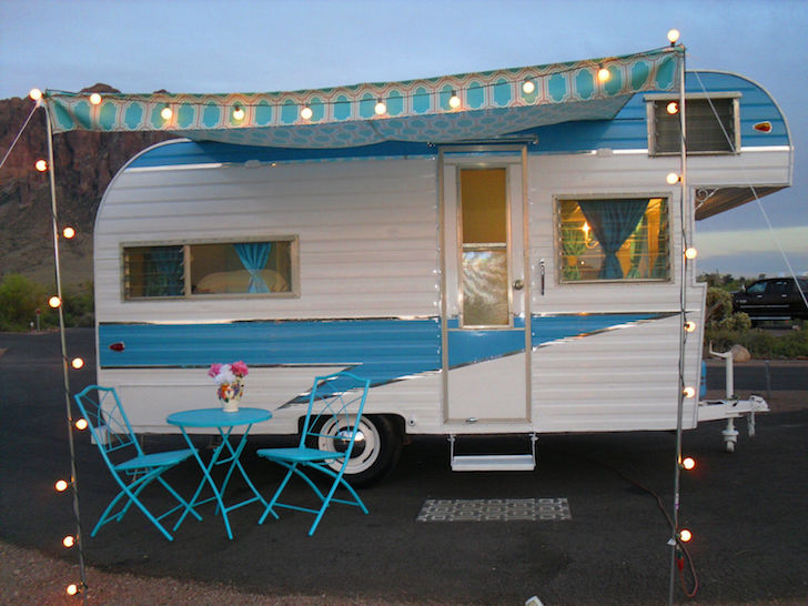 Perfect Glamping Camper: 1963 Fireball Meteor