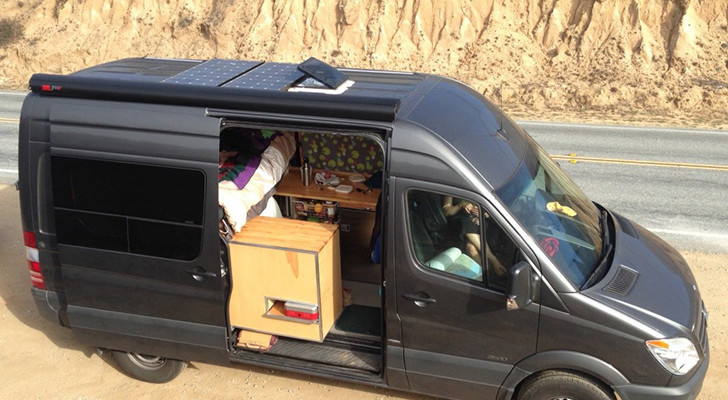 This Couple Optimized Their Sprinter Camper Van To Haul Mountain And Touring Bicycles