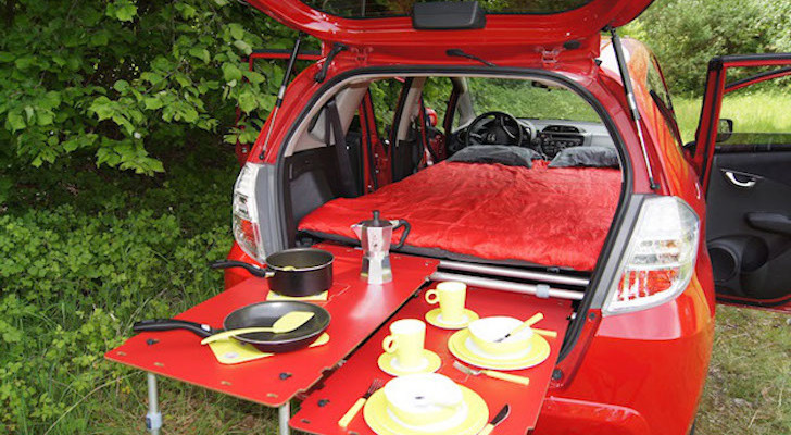 Swiss Engineers Have Come Up With An Ingenious Way To Turn Your Car Into A Camper