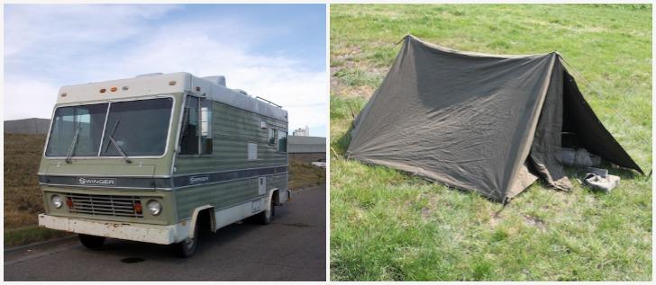 Pickup Truck Shelter : Slide in pickup camper ultimate survival bugout shelter
