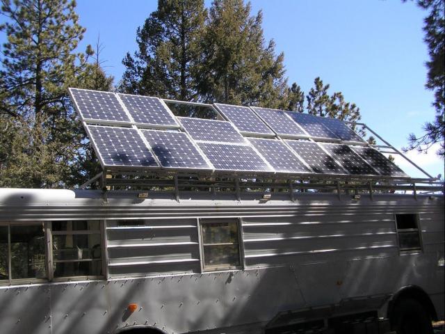 Homemade Survival Vehicle Has 1 820 Watts Of Solar Power