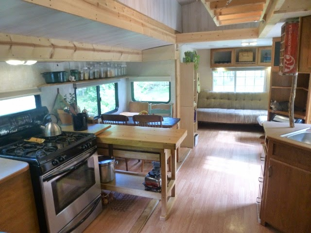 Spectacular Travel Trailer To Tiny House Conversion