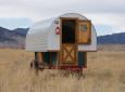 Classic Sheep Wagon RV For Rustic Camping Fun