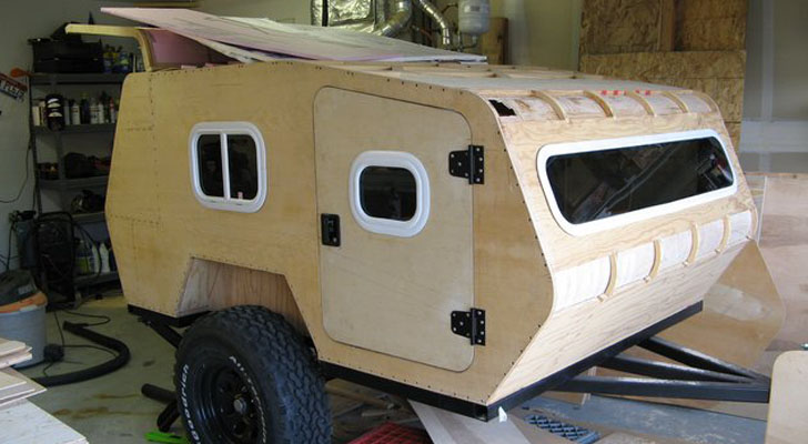 Gallery For gt Off Road Camper Trailer Plans