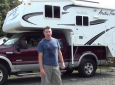 How To Load A Truck Camper Onto A Pickup Truck In 10 Minutes (By Yourself)