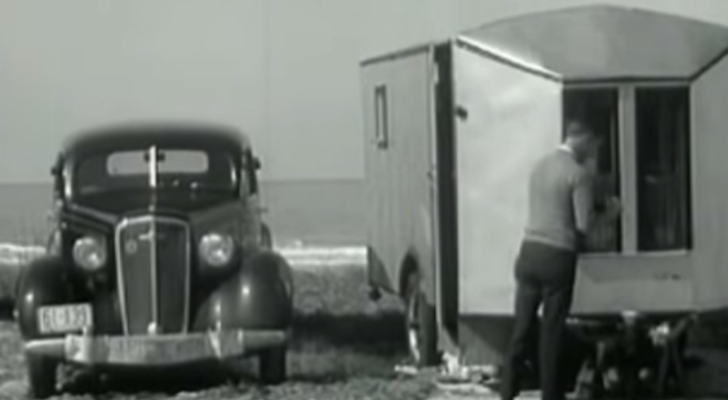 Vintage Footage From 1937 Gives Glimpse Into RV Life During The Great Depression