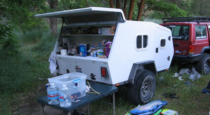 Simple  More Camper Trailers Homemade Camper Road Trailers Campers Trailers