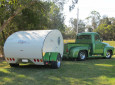 The Gidget Retro-Inspired Teardrop Camper Features One-Of-A-Kind Construction