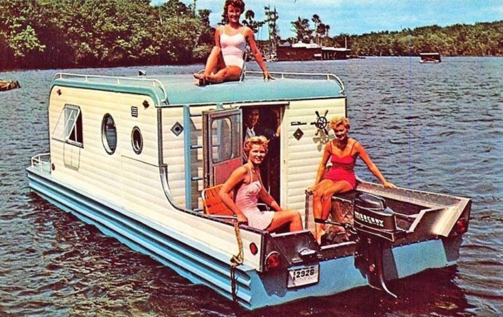 The camper boat hybrid sails again for What to do with an old boat