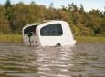 Sealander Is A Small Amphibious Camper Making a Big Splash