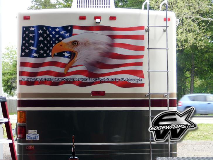 Star Spangled Patriotic Rv Designs Showcase Independence