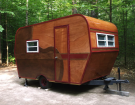 This Couple Destroyed A 1969 Vintage Camper And Built Something Beautiful On Its Frame