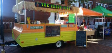 Pop Up Trailer Reimagined As Stunning Handcrafted Mobile Tiki Bar
