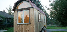 This Handcrafted Tiny Home On A Trailer Feels Like A Rustic Farmhouse