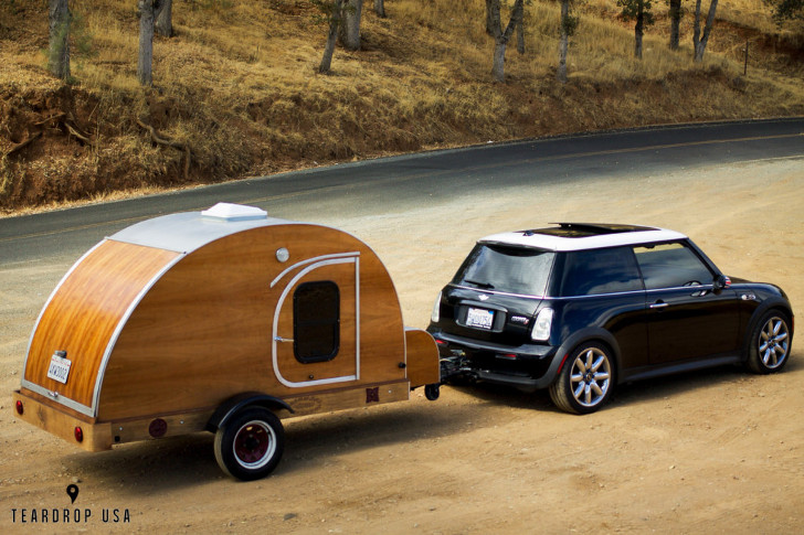 mini cooper camper trailer rvs for small car owners. Black Bedroom Furniture Sets. Home Design Ideas