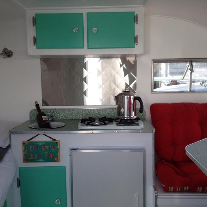 California Couple Builds Serro Scotty Camper From Scratch