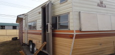 Husband And Wife Team Renovate Their 1979 Prowler Travel Trailer