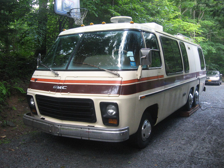 Rv Time Capsule Near Mint 1977 Gmc Kingsley Motorhome