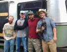 This Band Turned A Vintage Avion Trailer Into A Mobile Recording Studio