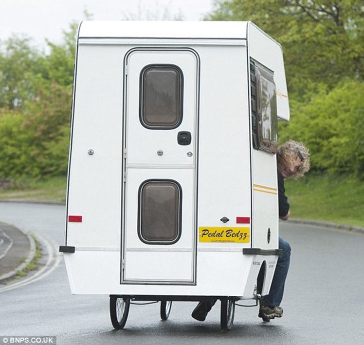 Peddle Bedzz Bike Camper Built By Famous Car Designer