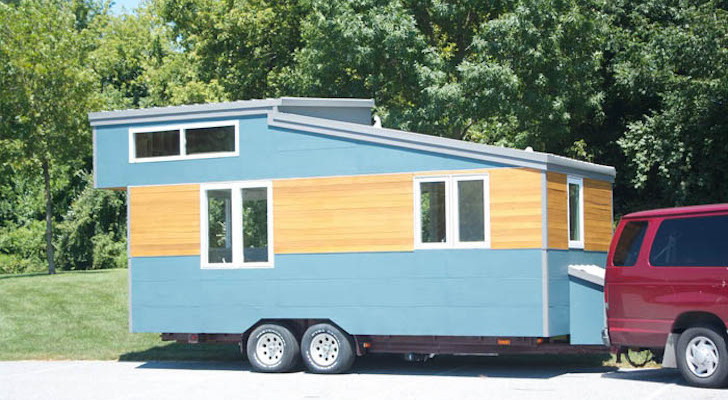 Modern And Minimalist Trailer House From Liberation Tiny Homes