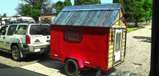 Micro Camper With A Tiny House Look Built For Only $800