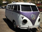 Former VW Microbus Now A Whimsical Four-Wheels-Down Trailer