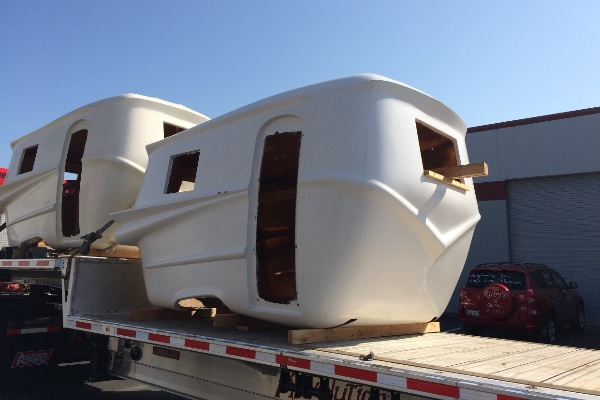 Fiberglass Camper Tops : Relic trailers offer modern convenience and retro styling