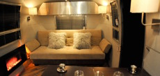 Rolling Man Cave? Renovated 1967 Overlander Airstream Trailer Both Modern And Masculine