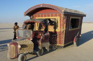 15 Ingenious And Colorful RVs At Burning Man 2015