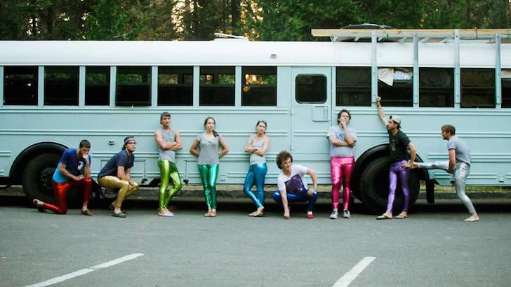 40-Foot Carpenter School Bus Rebuilt By 8 College Students