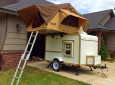 Two-Story Teardrop Trailer Featured In The New Pioneer Magazine