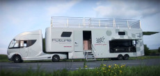 Futuria, The Luxury Semi Motorhome (With Trailer) From Germany