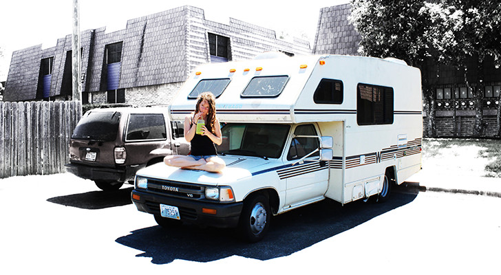 Brittany Taylor's Simple Life In A 19-Foot Winnebago Warrior