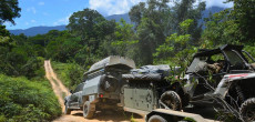 Off-Road Pop-Up Camper Goes Far Into The Outback (And Beyond)