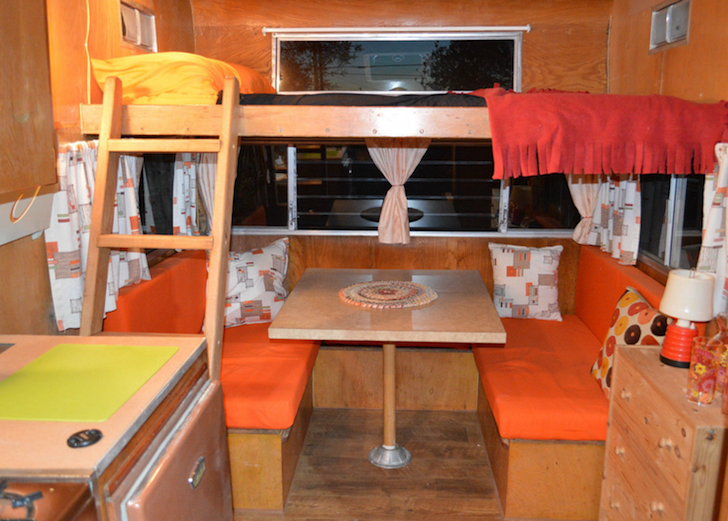 Limo For Sale >> This 1962 Shasta Astrodome Features A Cab-Over Bunk