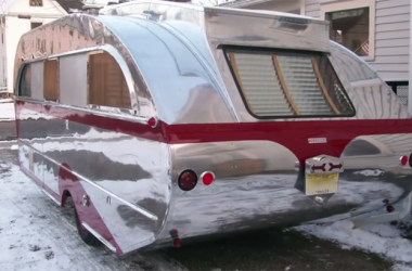 Classic 1947 Aero Flite Falcon Camper Will Make You Do A Double-Take