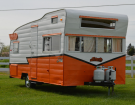 This 1962 Shasta Astrodome Features A Cab-Over Bunk And Sleeps 6