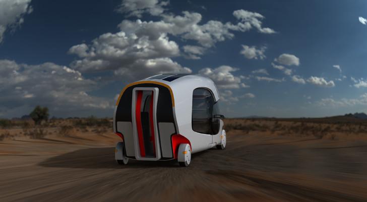 This Epic Motorhome Concept Combines A Car And A Caravan Camper