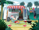 These 2 Camping Themed Christmas Cards Are Perfect For The Holidays