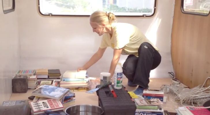 Follow Along As This Danish Couple Turn A Camper Into A Micro Home