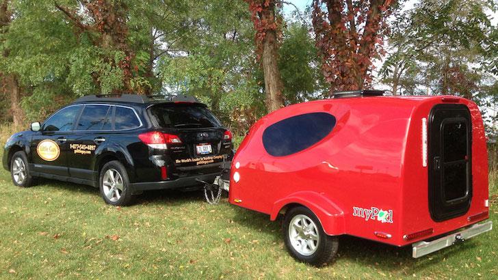Vous pouvez tirer cette micro-roulotte aérodynamique avec juste une moto, mais une voiture Marchera Aussi Little-Guy-MyPod