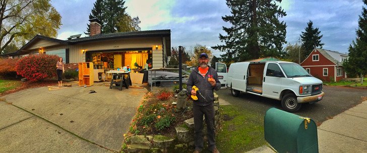One Resourceful Adventurer Offers Some Practical Ideas On Van Conversion For Full Time Living