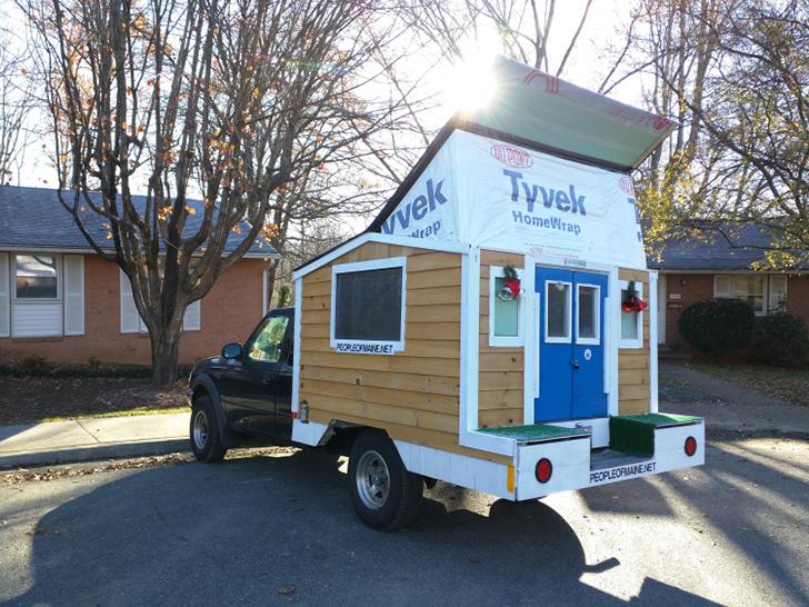 Man Travels The U S In A 500 Homemade Truck Camper