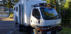 You Have To See The Total Transformation Of This Mitsubishi Fuso Overland Camper