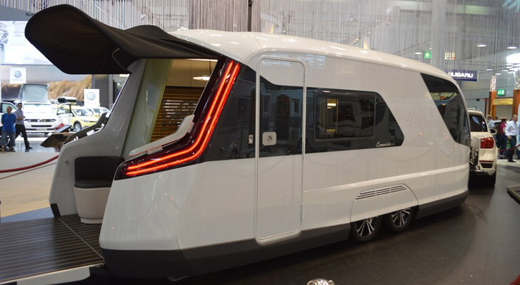 Caravisio Blends Over 20 Designer's Ideas Into A Futuristic RV Mindstorm