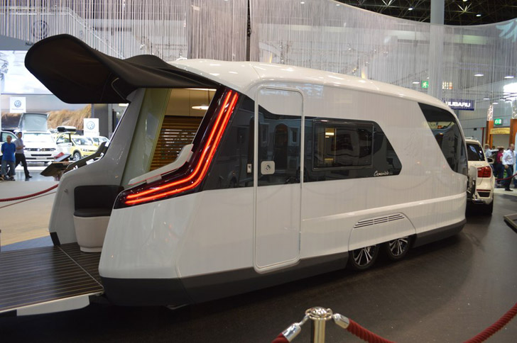 Futuristic Caravisio Rv Blends Over 20 Designer S Thoughts